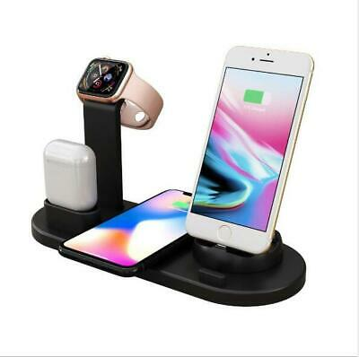$ CDN22.89 • Buy 3 In 1 Fast Charging Dock Charger Stand For Apple Watch /AirPods/iPhone /Android