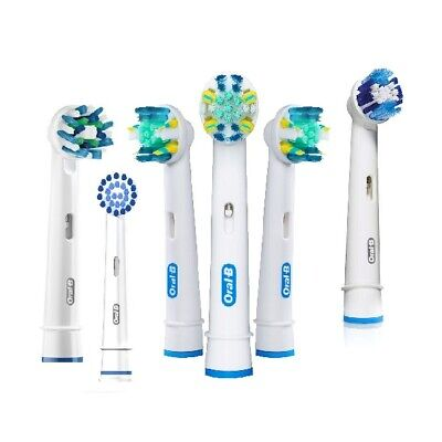AU24.95 • Buy Oral-B Braun Genuine Electric Brush Heads Cross & Floss Action Precision Clean