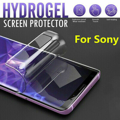 $ CDN2.90 • Buy For Sony Xperia 1 5 10 Soft Hydrogel Protective Film Screen Protector Full Clear