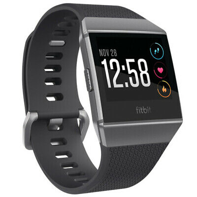 View Details Fitbit Ionic GPS Smart Watch-Large And Small Size Bands Fitness Activity Tracker • 122.00£