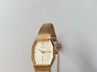 Citizen Gold Plated Ladies Watch,in Excellent Condition And New Battery On. • 25£