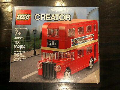 $ CDN25.51 • Buy LEGO 40220 Creator Double Decker London Bus Brand New & Sealed