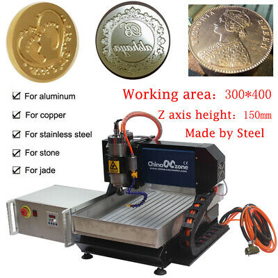 $2198.54 • Buy Steel CNC 3040 3axis Router Engraving Cutting Milling Machine Mach 3 USB DIYUS