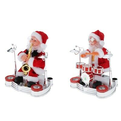 $ CDN33.60 • Buy Musical Singing Santa Claus Christmas Toy Doll Figure For Holiday Decoration