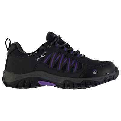 Gelert Womens Horizon Low Waterproof Walking Shoes Lace Up Breathable Outdoor • 24.99£