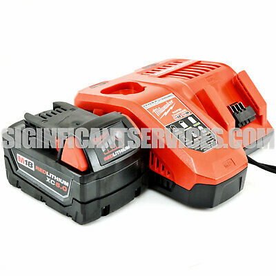 $ CDN147.66 • Buy Milwaukee 48-59-1808 NEW M12/M18 5.0 Ah Lithium-Ion Battery Rapid Charger