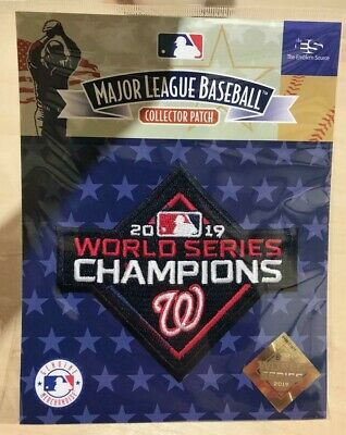 $13.94 • Buy WASHINGTON NATIONALS World Series Champions Patch Official Baseball Jersey Patch