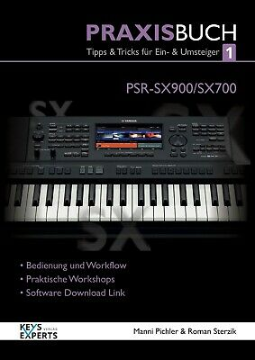 AU51.55 • Buy The Practice Book For Yamaha PSR-SX900/700Keyboard Band 1 Speech German! SX 900