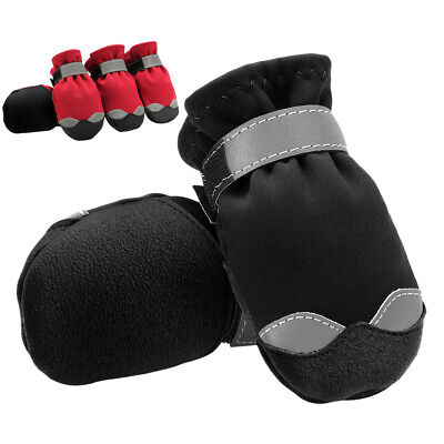 £14.72 • Buy Dog Snow Shoes For Large Dogs Non Slip Reflective Boots Booties Paw Protection