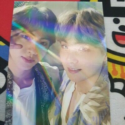 $29.99 • Buy BTS 5th Muster Magic Shop Official Ticket Holder Photo Card Only Jin + SUGA