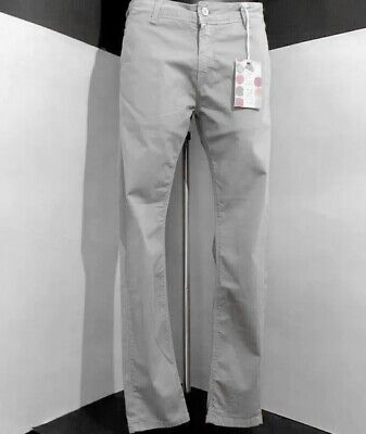 £18.57 • Buy ALTERNET Trousers Man/boy Model CINOS Mud Color Cotton Blend NEW Tag Size 48slim