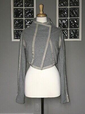 $ CDN70.40 • Buy Lululemon Jacket 8 Heathered Gray Croppped Vintage Euc Rare