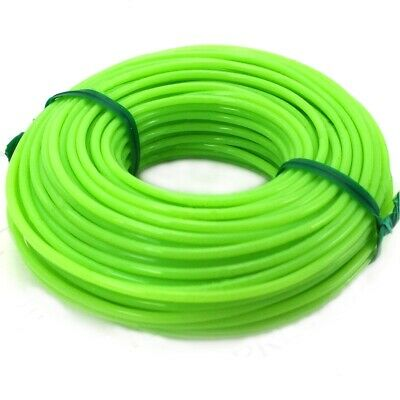 £3.95 • Buy GREEN NYLON STRIMMER LINE 1.65mm X 15mm Thick Garden Grass Bush Cutting Cable