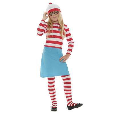 £21.29 • Buy Child's Officially Licensed Where's Wally? Wenda Fancy Dress Costume