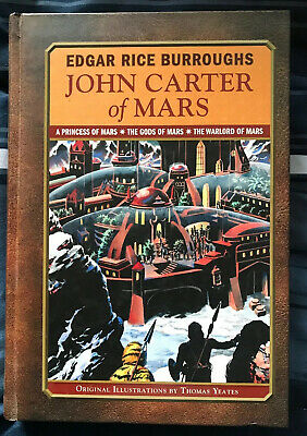 John Carter Of Mars Hardcover Trilogy • 25$