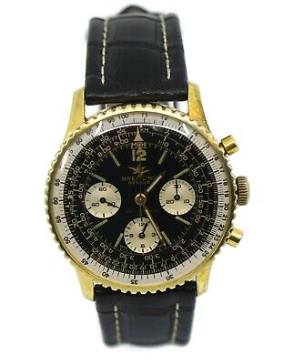£3294.73 • Buy Breitling Navitimer Chronograph Two Tone Stainless Steel Watch 806