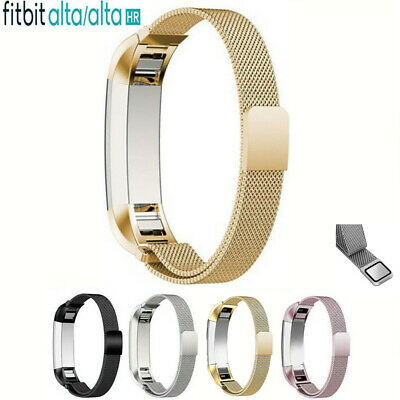 AU11.67 • Buy For Fitbit Alta / Alta HR Magnetic Milanese Stainless Steel Watch Band Strap New