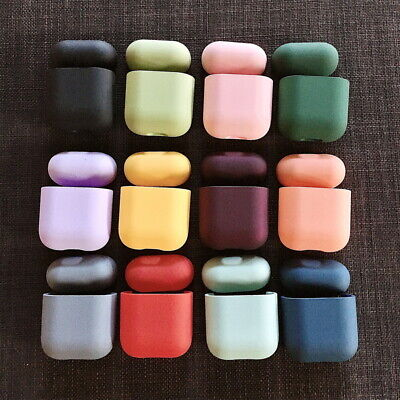 $ CDN4.20 • Buy For Apple AirPods 1st 2nd Earphone Protector Shockproof Hard Plastic Case Cover