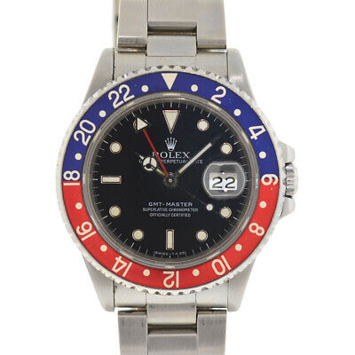 $ CDN13232.38 • Buy Rolex 16700 GMT-Master Pepsi Stainless Steel Automatic Watch
