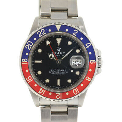 $ CDN13579.20 • Buy Rolex 16700 GMT-Master Pepsi Stainless Steel Automatic Watch