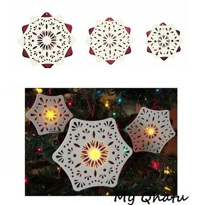 $8.41 • Buy IKEA STRALA 3/Set Christmas Holiday LED Indoor Snowflake Lighting Decoration NEW