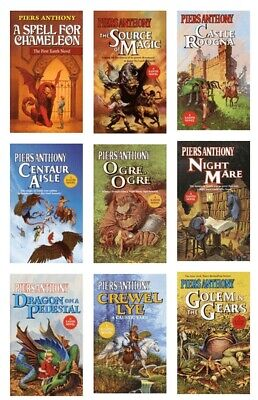 The Magic Of Xanth Series By Piers Anthony - 32 MP3-CD AUDIOBOOK COLLECTION  • 39.99$