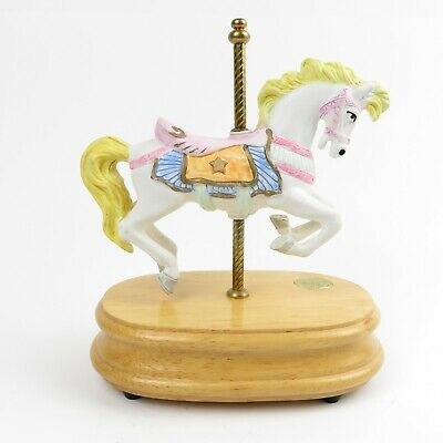 $15.50 • Buy Carousel Collection Vintage Carousel Horse Music Box 2nd Edition 7.5  Tall
