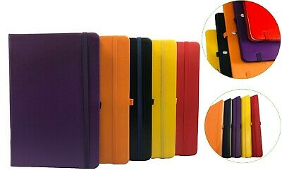A5 New Hardback Notebook Notepad Not Book Notes Diary Journal For Office School • 4.29£