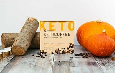 $37.50 • Buy KetoWorks Keto Coffee Pumpkin Spice Pods  K-cups Use With Or Without Keurig!