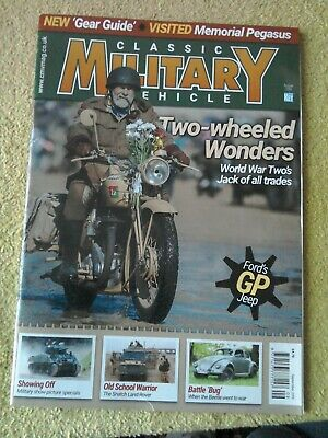 Classic Military Vehicle - September 2019, 220 Two-wheeled Wonders • 2£