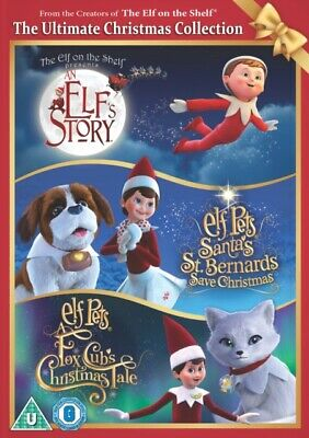 AU39.96 • Buy  The Elf On The Shelf: The Ultimate Christmas Collection DVD