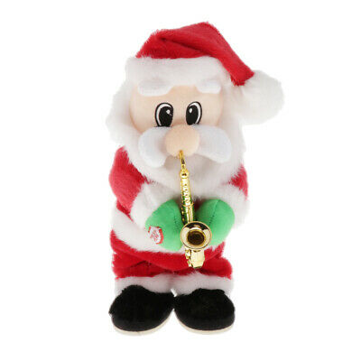 $ CDN41.70 • Buy 1pc Christmas Electric Santa Claus Doll Blowing Saxophone Old Man Home Decor