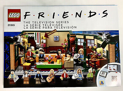 LEGO IDEAS FRIENDS 21319 Central Perk INSTRUCTIONS MANUAL ONLY • 12.49$