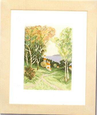 Lanarte Counted Cross Stitch Kit   Country View   • 22£
