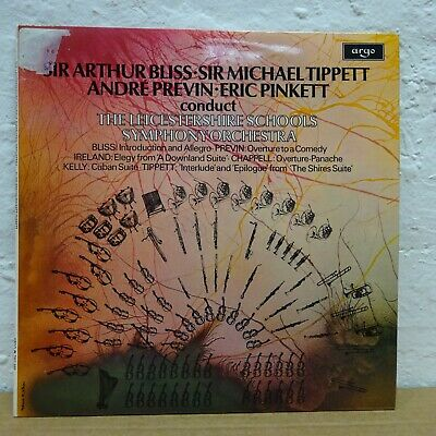 ZRG 685 BLISS/TIPPETT Various Pieces Overture  ANDRE PREVIN ARGO STEREO LP EX  • 4.99£