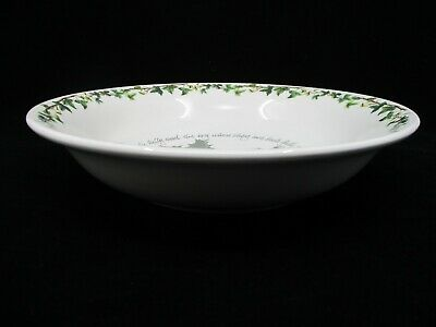 PORTMEIRION HOLLY & IVY PASTA SERVING BOWL - 10 1/2  X 2 1/8   1406D • 34.98$