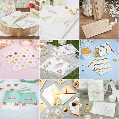 Paper Sweet Bags Birthday Wedding Hen Party Favours Baby Shower Candy Treat Bags • 2.70£