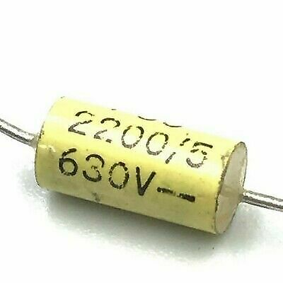 £1.89 • Buy 2.2nf 2200pf  630v Axial Capacitor Arcotronics