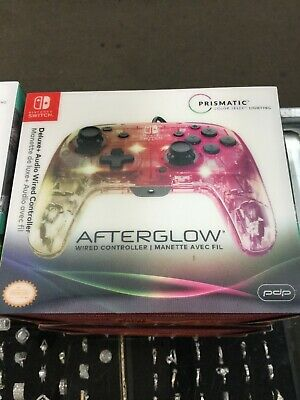 $27.99 • Buy Afterglow - Deluxe+ Controller For Nintendo Switch - Transparent Nib