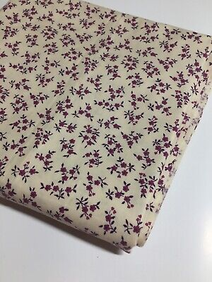 Vintage   Wool Viyella Fabric 80 Cm Wide X 2.80 Metres - Gorgeous !!!  • 63.25£
