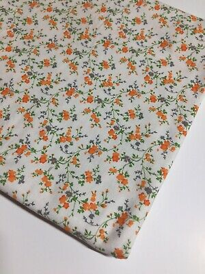 Vintage Floral Fabric Viyella Or Challis 86 Cms Wide X 1.40 Metres Long  • 31.63£