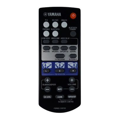 AU56.79 • Buy Genuine Yamaha YSP-1400BL / YSP1400BL Soundbar Remote Control