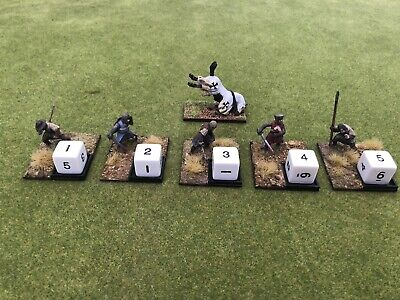 28 Mm Wargame Medieval Casualty Markers • 15£