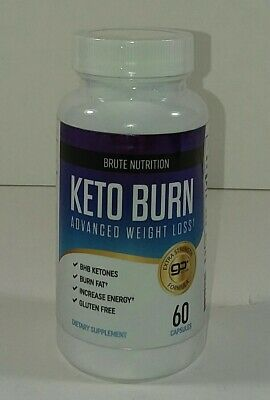 Brute Nutrition Keto Burn Advanced Weight Loss (60 Capsules) EXP 05/2021 • 15.99$