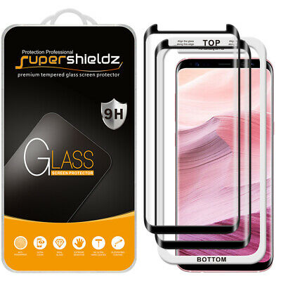 $ CDN14.60 • Buy 2X Full Cover Tempered Glass Screen Protector For Samsung Galaxy S8 Plus
