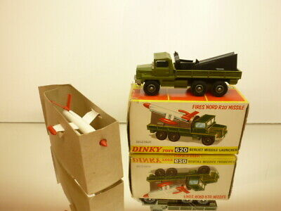 £137.19 • Buy Dinky Toys 620 Berliet Nord R20 Missile Launcher - Army Green - Excellent In Box