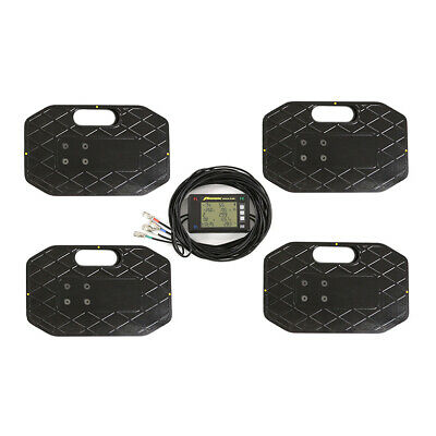 £912 • Buy Proform 2250kg Race Car Corner Weighting Scales Kit Wired