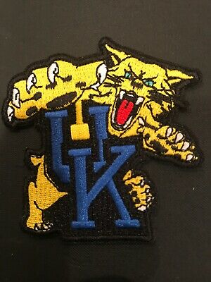 "$6.79 • Buy University Of Kentucky Wildcats Vintage Embroidered Iron On Patch  2.5"" X 2.5"""