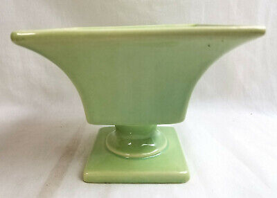 $24.95 • Buy Haeger USA Pottery Light Green Footed Pedestal  Planter Dish Bowl 4.5