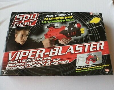 Spy Gear Viper Blaster Shooter - The Box Is Not In English  • 27.99£